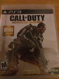 Call of Duty Advanced Warfare PS3 game case Eastover, 29044