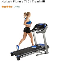Horizon Fitness T101 Treadmill Arlington, 22206