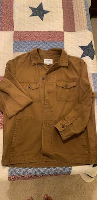 brown button-up jacket Baltimore, 21230