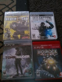 four ps3 games Paramount, 90723