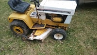 yellow and white Cub Cadet riding mower Uniontown, 15401