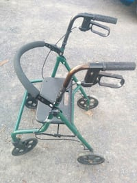 green and black rollator walker Clarence-Rockland, K0A 1E0