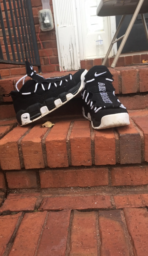 28a1d818589696 Used black-and-white Nike Air Max shoes for sale in Powder Springs - letgo