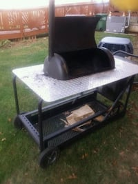 Outdoor custom smoker  Manassas, 20111