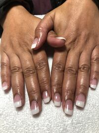 Manicure, dipping powder.  Brampton