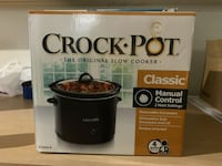 Crock-Pot slow cooker box Silver Spring, 20907