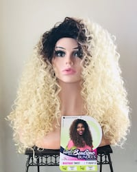 Long Versatile Curly Half/Full Wig for Everyday or Cosplay  Calgary, T2P