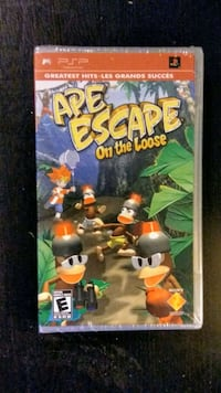 FACTORY SEALED! Sony PSP Ape Escape New Westminster, V3M 3Y3