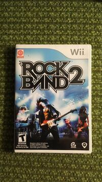 Rock Band 2 Nintendo Wii game case New Westminster, V3M 5X4