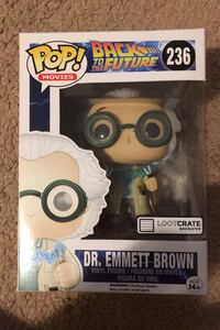 Back to the future loot crate pop Paterson, 07502