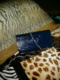 black and blue leather wallet Moreno Valley, 92557