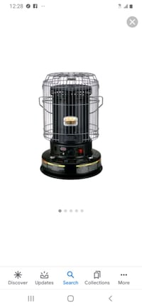 Black kerosene heater