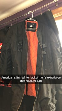 American stitch winter jacket Guelph, N1H 6B5