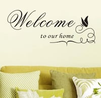 Wall decals perfect for renters