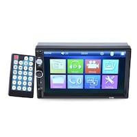 "7"" 2 DIN AUTORADIO TOUCH SCREEN BLUETOOTH MP5 MP3 STEREO Mugnano di Napoli"