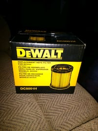 DeWalt replacement filters for 20 volt vacuum Des Moines, 50317
