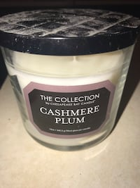 Cashmere plum 12 oz candle South Dartmouth, 02748