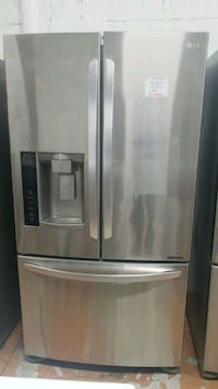 stainless steel french door refrigerator Markham, L3T 1L5