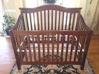 Brown wooden crib Springfield, 22150