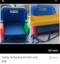 Safety 1st feeding booster seat foldable in a very good condition and very clean Calgary, T3H