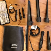 paul mitchell interchangeable curling wands like new only used twice.  paid over $170 new.