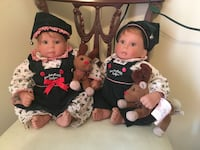 Lee Middleton Original Baby Dolls signed and numbered Saint Louis, 63146
