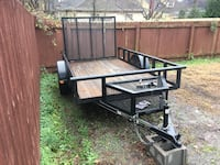 6x10 Dovetail trailer with tool box (like new) Nashville, 37206