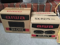 Two Aiwa SX-C605 center speaker boxes Sterling, 20165