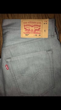 gray Levi's denim bottoms 1700 mi