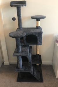 Dark Grey Kitty Condo/Cat Tower Hyattsville, 20782