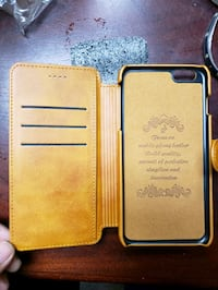 iPhone 6s leather case brand new/cards holder/  Toronto, M1P