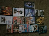 assorted DVD movie case collection Lubbock, 79407