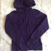 Purple lululemon sweater hoodie size 6 3735 km