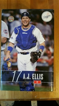 Los Angeles Dodgers AJ Ellis bobble head Bakersfield