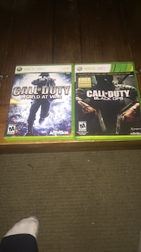 three Xbox 360 game cases Whitby, L1R