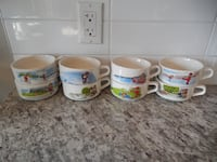 Complete Set of Cambells Soup mugs (complete set)  Morinville