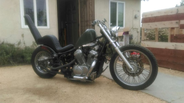 used honda shadow vlx 600 bobber chopper for sale in. Black Bedroom Furniture Sets. Home Design Ideas