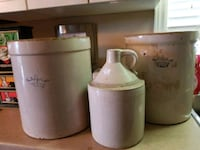 Antique Crocks Starting at $25 Niagara Falls
