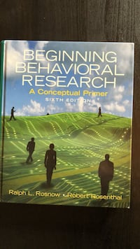 Beginning Behavioral Research (6th)