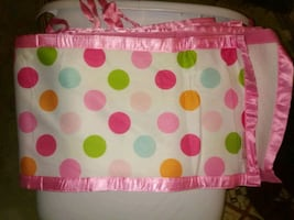 Breathable baby bumpers