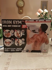 Total body workout kit from Iron gym Vaughan, L4L 8S4