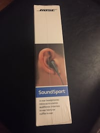 BOSE Soundsport- IN BOX NEVER OPENED Mississauga, L5B 2C9