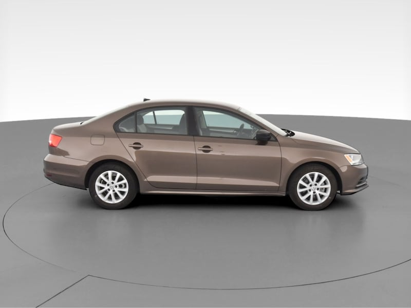 2015 VW Volkswagen Jetta sedan 1.8T SE Sedan 4D Brown  12