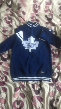 blue and white letterman jacket 583 km