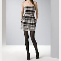 French Connection Plaid Dress Size 2 Davie, 33328