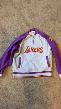 Grey and purple lakers pullover hoodie Spring Valley, 91977