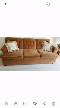 brown queen sofa bed Richmond Hill, L4E 5E8