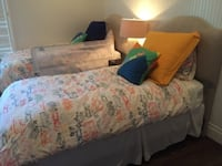 Complete Twin Beds! Nearly New!! Headboards, Mattresses & Boxsprings