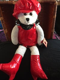 Chantilly Lane Bear. Sings These boots are made for walking  Sinatra. 22 inches tall. $25 West Jordan