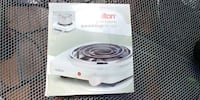 Portable cooking stove Greater Vancouver, V7N 4H1